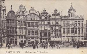 Maisons Des Corporations, BRUXELLES, Belgium, 1900-1910s