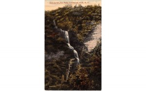 Deh-Ge-Wa-Nus Falls Letchworth, New York Postcard