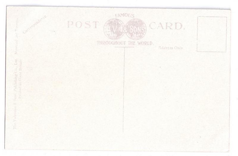 Quebec Canada Postcard Les Ramparts ca 1910 Valentine & Sons