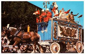 21425  Ringing Barnum Circus  Parade Wagon Circus Clowns Clydedals Horses