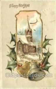 New Years Eve Postcard Post Cards Old Vintage Antique