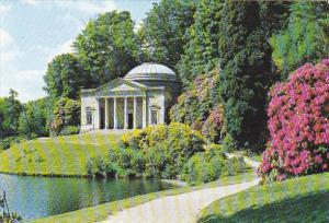 England Wilts Stourhead Gardens Pantheon