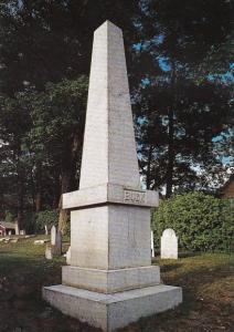 The Monument Of Colonel Jonathan Buck Founder Of Bucksport Maine