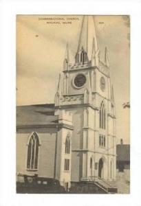 Congregational Church, Machias, Maine, PU-1955