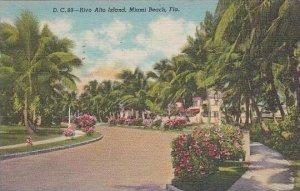 Florida Miami Beach Rivo Alto Island 1946