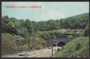 Pennsylvania Turnpike Postcard BIN