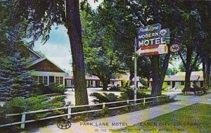 Colorado Canon City Park Lane Motel 1962