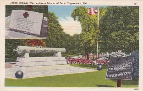 Maryland Hagerstown United Spanish War Veterans Memorial Park