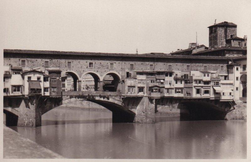 RP; FIRENZE, Toscana, Italy, 1930-1950s; II Ponte Vecchio