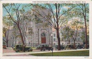 Michigan Kalamazoo First Presbyterian Church And Church House