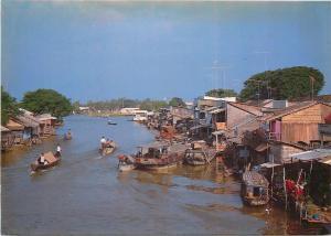Vietnam Đồng Tháp Province My An boats scenery