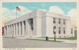 Illinois Decatur U S Post Office 1939