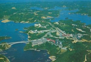 Ago Bay Shima Kanko Hotel Aerial Japanese Postcard