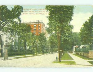 Unused Divided Back STREET BY THE USE ONE HOTEL Buffalo New York NY hr9319