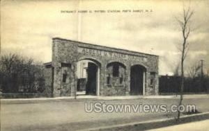 Albert G Waters Stadium  Perth Amboy NJ Unused