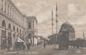 RP; CONSTANTINOPLE, Turkey, 1910s; Place de Top-Hane