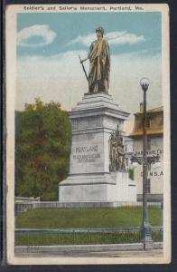 Soldiers and Sailors Monument,Portland,ME BIN