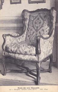 Musee Des Arts Decoratifs, Bergere (Epoque Louis XIV), PARIS, France, 1900-1910s