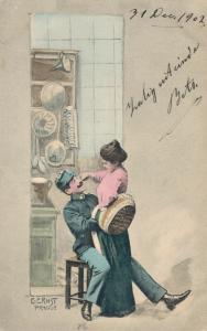 E Ernst Prague Romantic postcard 02.60