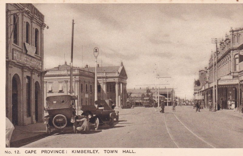 Cape Province: Kimberley , Town Hall , South Africa , 10-30s
