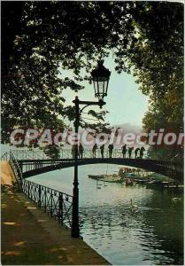 Modern Postcard Annecy (Haute Savoie) The Bridge of Love