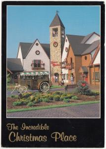 The Incredible Christmas Place, Pigeon Forge, TN, unused Postcard