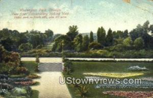 Washington Park Chicago IL 1909 Missing Stamp
