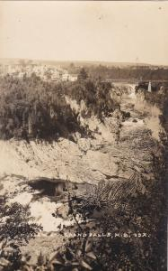 RP, View at Grand Falls, New Brunswick, Canada, 1920-1940s