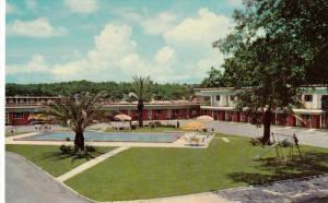 Swimming pool, Southernaire Motel, TALLAHASSEE, Florida, 40-60´s