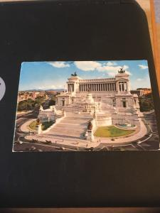 Vintage Postcard: Rome Italy, Altar of Fatherland