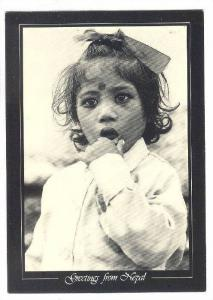 An innocent face, Greetings from Nepal, 50-70s