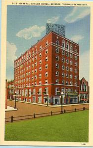 VA - TN - Bristol, General Shelby Hotel
