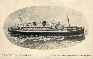 M.S. Marnix Van St. Aldegonde N.V. Stoomvaart Maatschappij Nederland 05.30