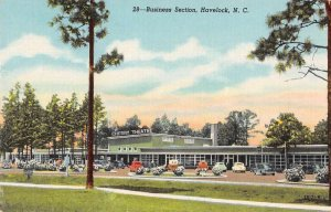 Havelock North Carolina Cherry Theatre Vintage Postcard JI658460