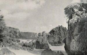 GUAM , 1950-60s ; Monoliths along Shore