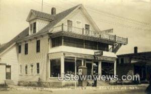 Real Photo, WL, Barney Co, Pharmacy, Rexall Store Jackman Station ME Postal U...