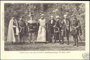 netherlands, LEIDEN, Student Corps Masquerade (1900)