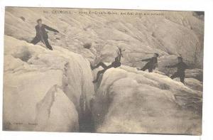 Climbing; CHAMONIX._Route des Grands-Mulets , 00-10s