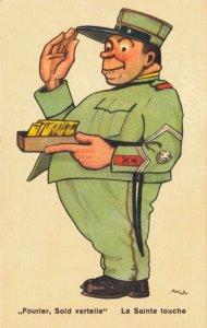 Military Fourier Sold Verteile La Sainte Touche World War 2  06.56