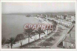 Nice Modern Postcard The Bay of Angels