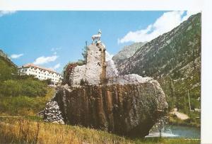 Postal 039044 : Pirineos Centrales. Caldas de Bohi. Hotel del Manantial