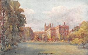 Oxford, New College, drawing Allen Shuffrey Series