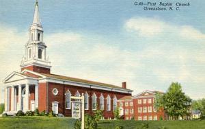 NC - Greensboro. First Baptist Church