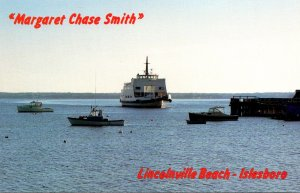 Maine Lincolnville Beach Ferry Margaret Chase Smith