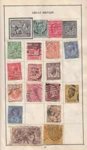 Great Britain Sandringham Victorian Postmark Stamp Antique Collection