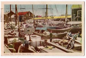 Fishing Fleet, Yarmouth NS