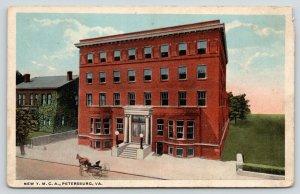 Petersburg Virginia~New YMCA~Horse & Buggy in Front~House Beside~1920s