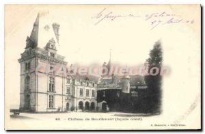 Postcard Old Chateau De Bourlemont