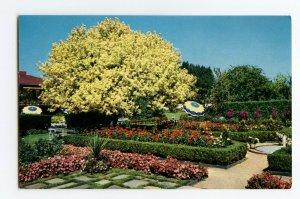 Postcard Spanish Garden Lambert Gardens Portland Ore. Standard View Card