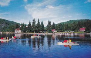 Hotel LA SAPINIERE , Lac Dufresne , Val-David , Quebec , Canada , 50-60s